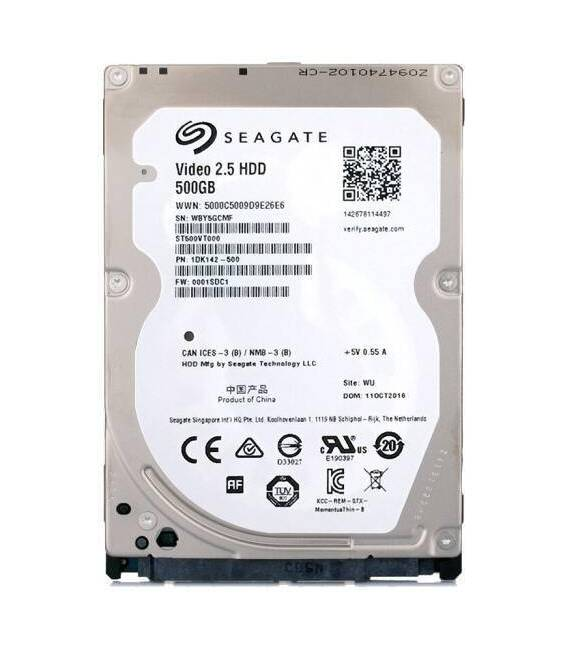 "Hard disc 500 GB S-ATA 2.5"" (laptop)"