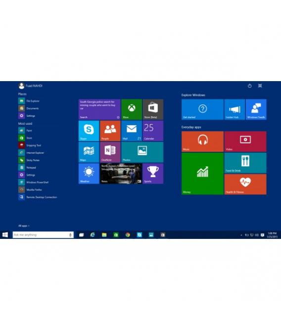 Preinstalare Microsoft Windows 10 Pro
