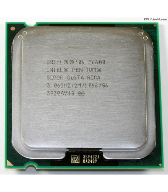 Procesor Intel Dual Core E6600 3.06G