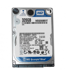 "Hard disc 320 GB S-ATA 2.5"" (laptop)"